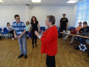 Deaf awareness training