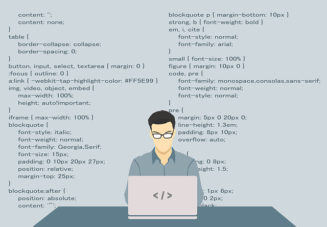 Web Developer with code background
