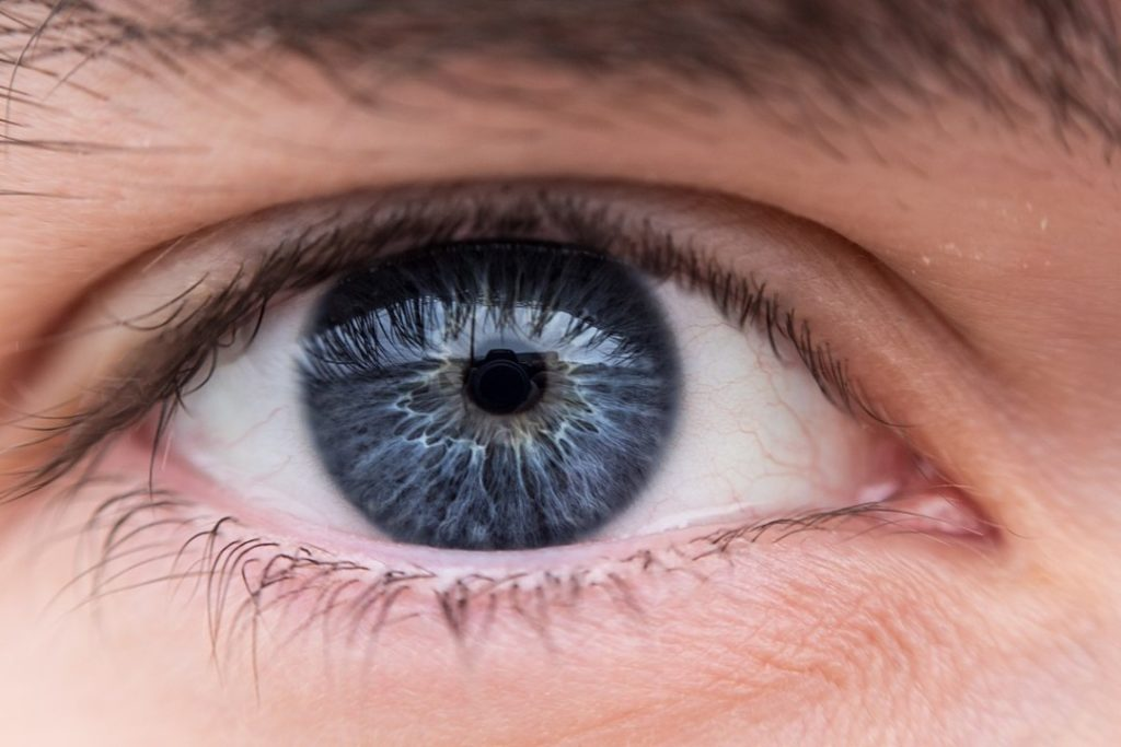 Close up image of an eye